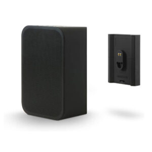 portable speaker with battery front black